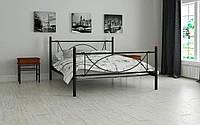 Кровать металлическая Роуз  ТМ Мадера