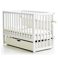 Детская кроватка Верес Соня ЛД 13 Белый (ящ.+ маят.) д/спица. 13.1.61.1.06