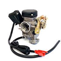 Карбюратор GY6-80, 100сс Увеличенный диффузор 20мм