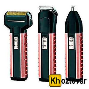 Акумуляторна бритва-тример Gemei GM-789