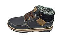 Ботинки зимние на меху подростковые Multi Shoes Comfi Mat Black