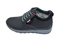 Ботинки зимние на меху подростковые Multi Shoes GA2 Black