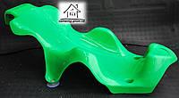 Детская подставка для купания в ванночку (зеленая)
