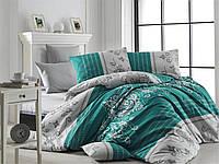 Качественный евро комплект постельного белья ТМ Nazenin Home, ранфорс SULTANS-NR-187_k, фото 1