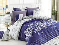 Качественный евро комплект постельного белья ТМ Nazenin Home, ранфорс SULTANS-ROYAL-1, фото 1