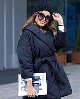 Женская зимняя куртка свободного кроя, фото 1