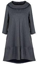 Платье женское 3443S с воротником клеш (деми)