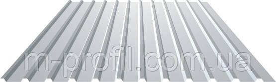 Профнастил ПК-10, толщина 0,45мм, оцинкованный