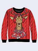 Свитшот Олень в свитере
