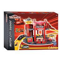 Гараж Majorette Motor City + автомобиль  2058211