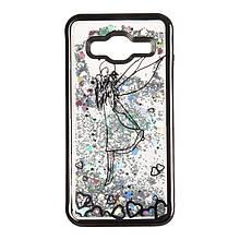 Чехол накладка силиконовый TPU Beckberg Aqua для Samsung J700 J7 Fairy Black