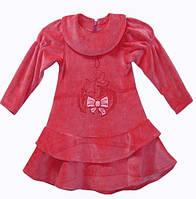 Теплое платье сарафан для девочки