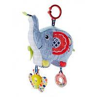 Мягкая игрушка-подвеска Слоненок Fisher-Price (DYF88)