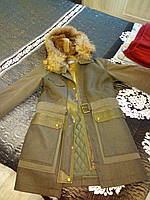 Куртка женская с натуральным мехом YVES SALOMON