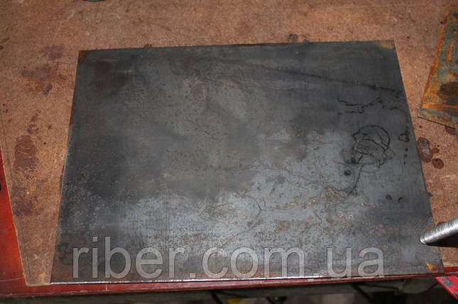 Закладная пластина 20х20см 8мм, фото 2