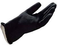 Перчатки двойные хлопчатобумажные, покрытые термостойким материалом.