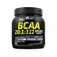 Olimp BCAA 20:1:1 Xplode 500g БЦАА аминокислоты для восстановления мышц для тренировок спортивное питание