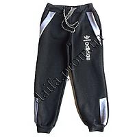 Трикотажные брюки с начесом для мальчиков 4-7 лет Z60 оптом в Одессе.