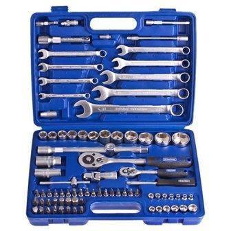 """Універсальний набір інструменту, 1/4"""" та 1/2"""" Werker UN-1082П (82 предмета), фото 2"""