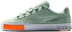 Женские кроссовки Puma x Daily Paper Court Platform S Green