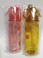 Бутылка для воды с дозатором 500 мл R15454 Китай