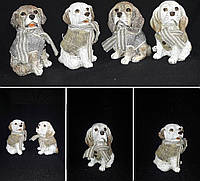 Символ 2018 года - собака, керамическая статуэтка, 14 см., 195/162 (цена за 1 шт. + 33 гр.)