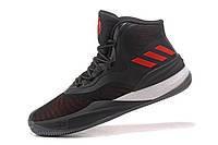 Баскетбольные кроссовки Adidas Rose 8 black-red