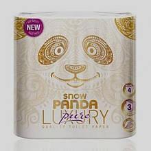 Бумага туалетная  LUXURY Pure Снежная панда 8шт