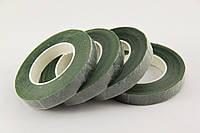 Флористическая лента  зеленая №301