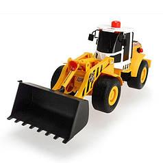 Машина Dickie Toys 3809004 Навантажувач з повітряною помпою
