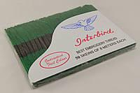 Мулине для вышивания 50 шт., зеленого цвета