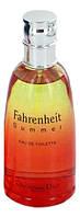 Оригинал Christian Dior Fahrenheit Summer 100ml edt Мужская Туалетная Вода Диор Фаренгейт Саммер