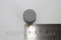 Заглушка пластиковая внутренняя ф22мм серая
