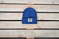 Шапка унисекс Adidas / светло-синяя шапка Адидас