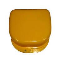 Коробка для ортодонтических и ортопедических констр. без отверстий желтая T-B-6