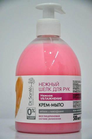 Крем-мыло для рук Нежное увлажнение Dr. Sante Нежный шелк  500мл., фото 2