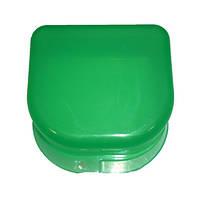 Коробка для ортодонтических и ортопедических констр. без отверстий зеленая T-B-6