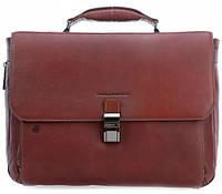 Портфель кожаный Piquadro BK SQUARE/Tobacco, CA3111B3_CU