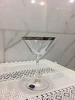 Бокалы для мартини 6шт 210мл Bohemia Viola платина
