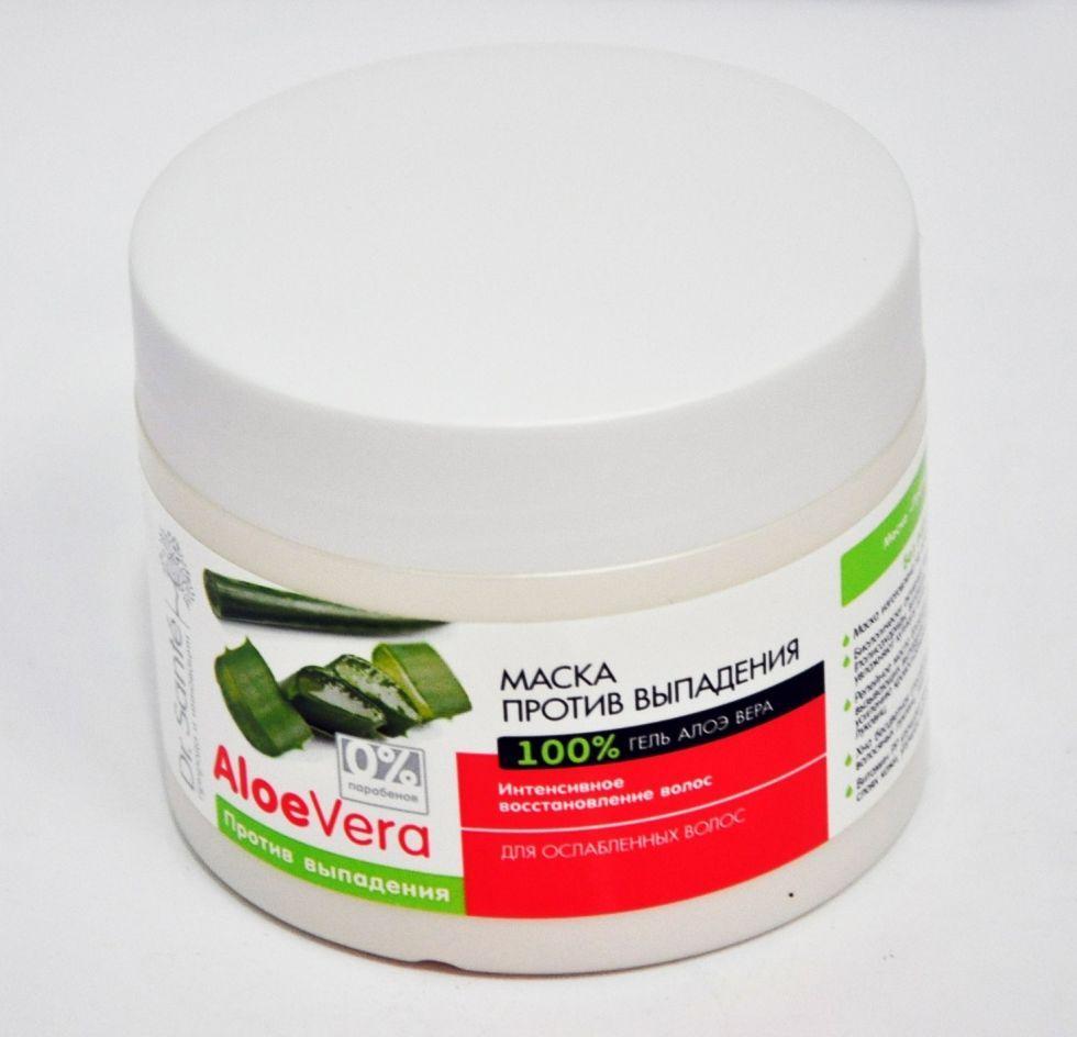 Маска для ослабленных волос «Против выпадения волос»  Dr. SANTE Aloe Vera 300мл.