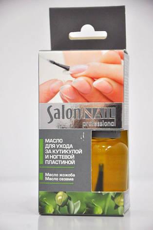 Масло для ухода за кутикулой регенерирующее №11  Salon Nail Professional 10мл., фото 2