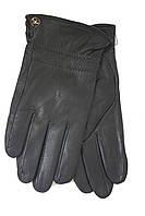 Мужские зимние кожаные перчатки L