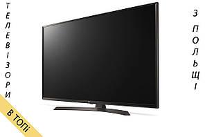 Телевизор LG 49UJ635V/634V Smart TV 4K/Ultra HD 1600Hz T2 S2 из Польши 2017 год