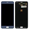 Оригинальный дисплей (модуль) + тачскрин (сенсор) для Meizu X | M3x (синий цвет)
