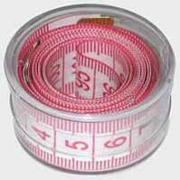 Сантиметровая лента в коробке (12шт) сантиметр