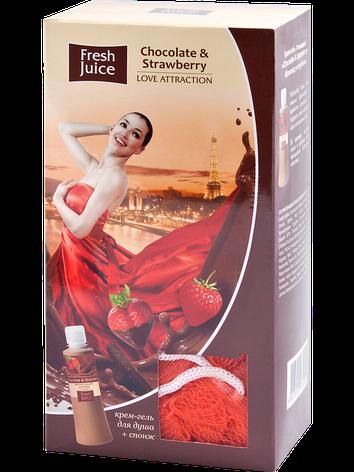 "Подарочный набор ""Love Attraction"" Chocolate & Strawberry Fresh Juice., фото 2"
