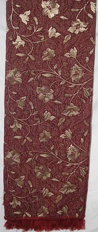 Глория красная комплекты гобеленовых покрывал на диван и кресла, фото 2