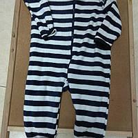 Пижама человечек слип полосатый от Early Days Primark, фото 1