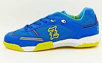 Обувь для зала мужская ZEL OB-90202-BL (р-р 40-45) (верх-PU, подошва-PU, синий)