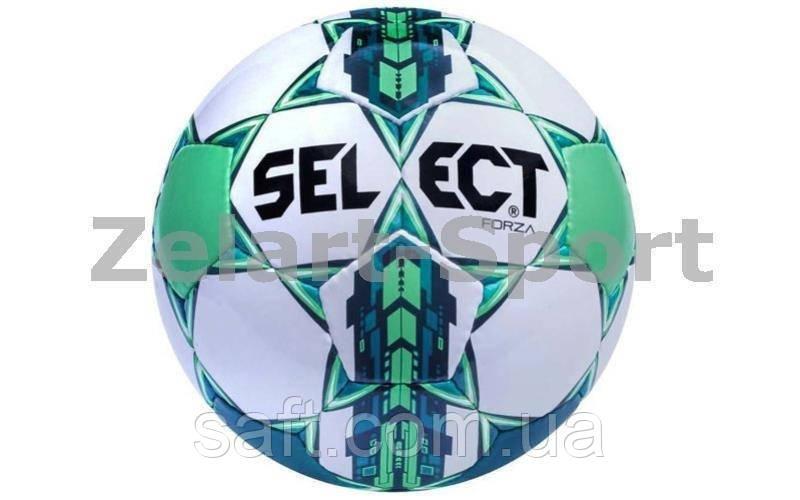 9be0d1279474 Мяч футбольный №5 SELECT FORZA (белый-синий-зеленый) - ИНТЕРНЕТ МАГАЗИН